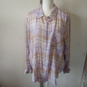 Time and true plus size blouse size XXL
